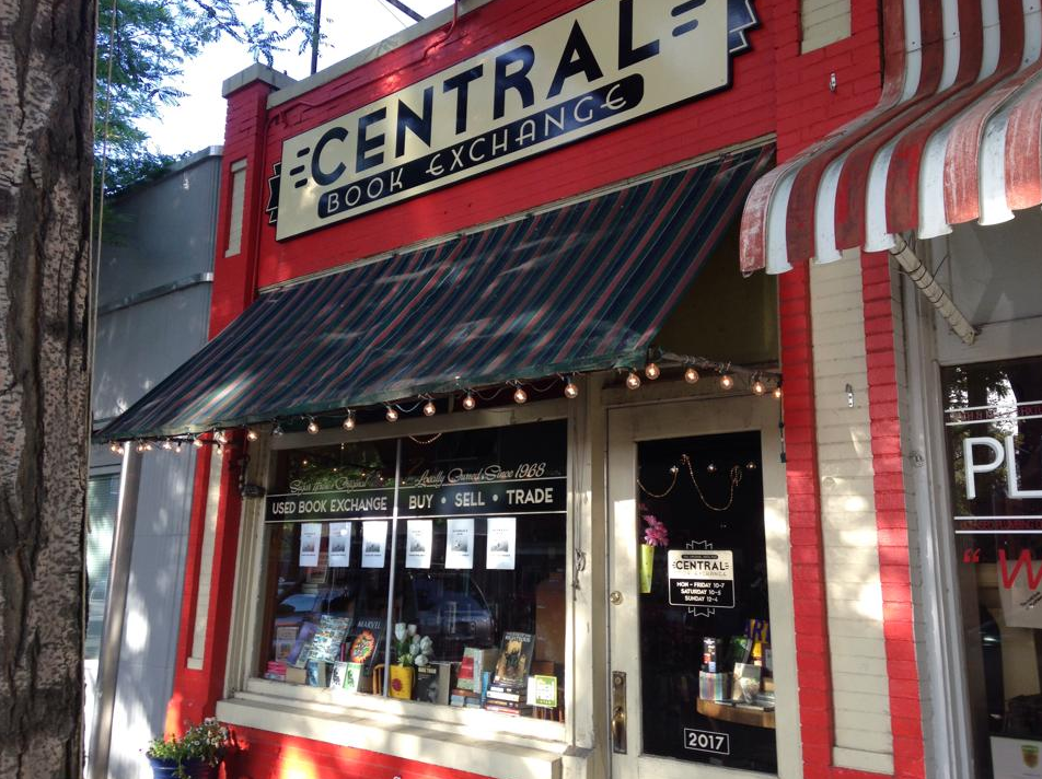 Hidden gems of SLC's Sugar House neighborhood. Central Book Exchange. Independently owned bookstore.