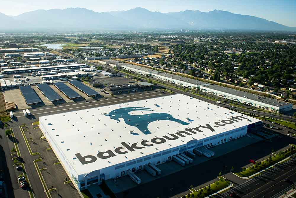 Backcountry warehouse located in West Valley City, UT.