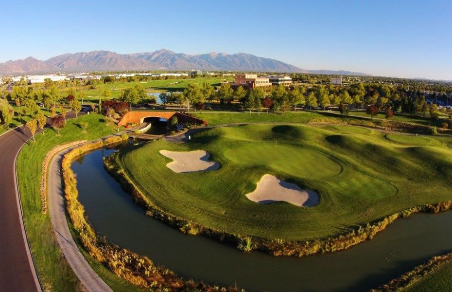 Stonebridge Golf Club in West Valley City, UT is one of the longest and most water-laden golf courses in Utah.