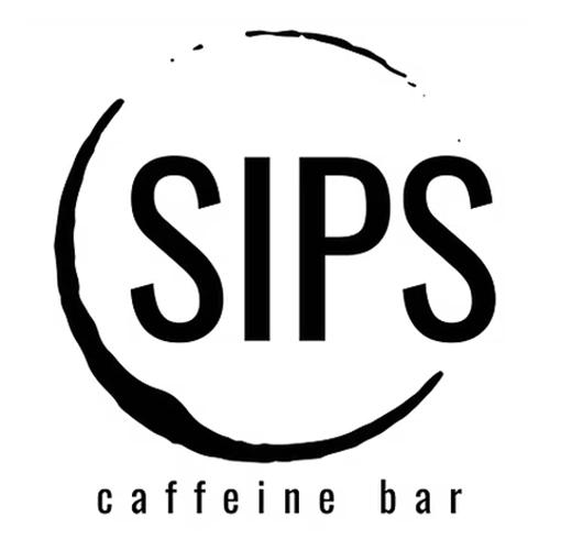 A logo of Sups Caffeine Bar a Dirty Soda and Drink Shop