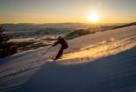skier utah