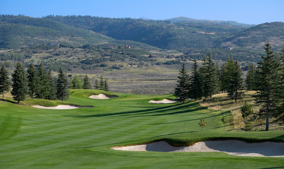 Glenwild Country Club and Golf Course in Park City Utah
