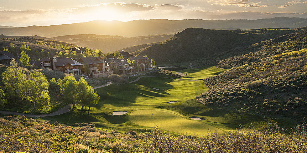 Promontory Country Club and Golf Course in Park City Utah