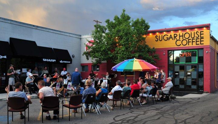 Sugar House Coffee. Fun, relaxing neighborhood gem in Sugar House.