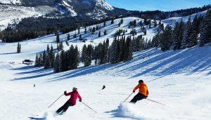 Ski resort in Utah